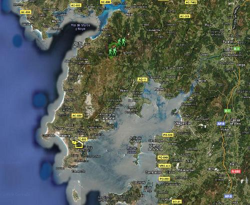 Mapa Leliadoura