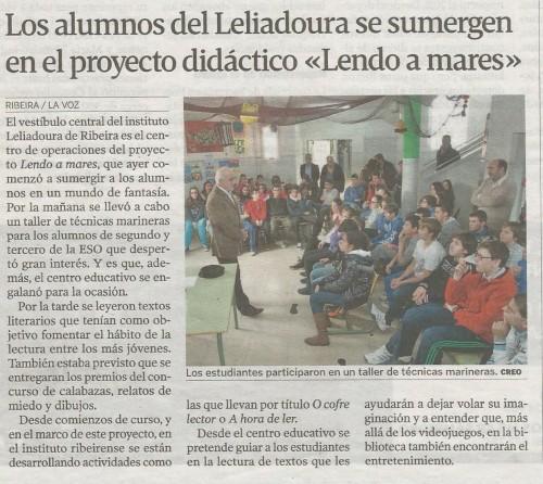 Prensa_Lendo a mares