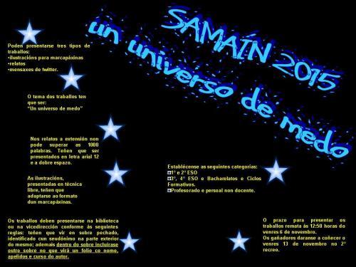 samain 15 negro letras